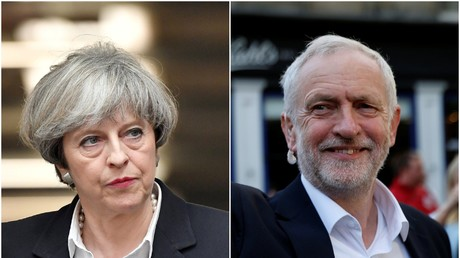 Es sieht nach einem äußerst knappen Rennen aus. Premierministerin Theresa May und Labour-Oppositionsführer Jeremy Corbyn kämpfen um jede Stimme.