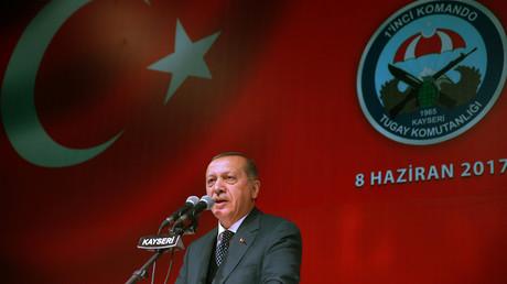 Recep Tayyip Erdoğan sagt Katar weitere Unterstützung zu