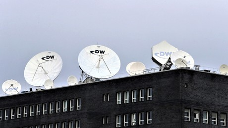 Das Hauptstudio des Senders Deutsche Welle in Berlin.
