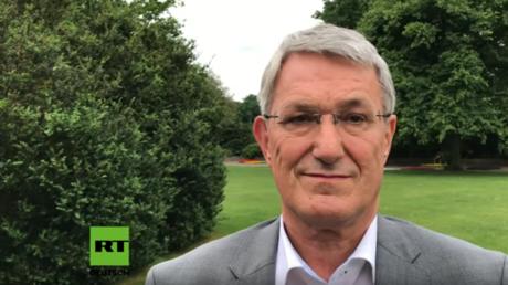 Der Co-Vorsitzende der Linkspartei Bernd Riexinger