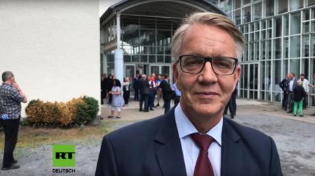 Der Co-Vorsitzende der Linksfraktion Dietmar Bartsch