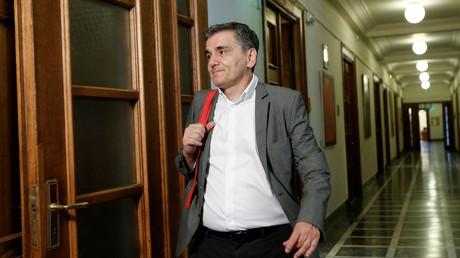 Der griechische Finanzminister Euclid Tsakalotos.