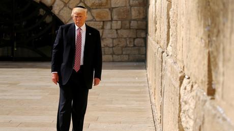 Trump an der Klagemauer in Jerusalem, Israel, 22. Mai 2017.