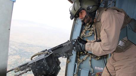 Afghanische Sicherheitskräfte bei einem Einsatz in der Provinz Kundus. Laut Angaben des russischen Außenministeriums werden Kämpfer des