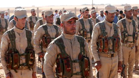 Die Syrisch Demokratischen Kräfte (SDF) werden von kurdischen Gruppen dominiert. Die USA wollen die an die SDF gelieferten Waffen nach dem Sieg über den