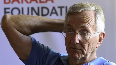 Der amerikanische Journalist Seymour Hersh ist Pulitzer-Preisträger. Er deckt immer wieder geheime Machenschaften seiner Regierung im verdeckten Krieg gegen Syrien auf, Prag 8. August 2016.