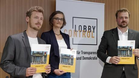 Der Verein Lobbycontrol stellte im Juni seinen Lobbybericht 2017 vor.