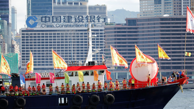 Hongkong feiert 20 Jahre Rückgabe an China