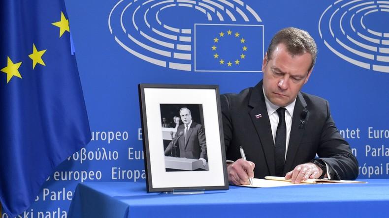 Dmitri Medwedew über Altkanzler Helmut Kohl: Russland war für ihn Teil Europas