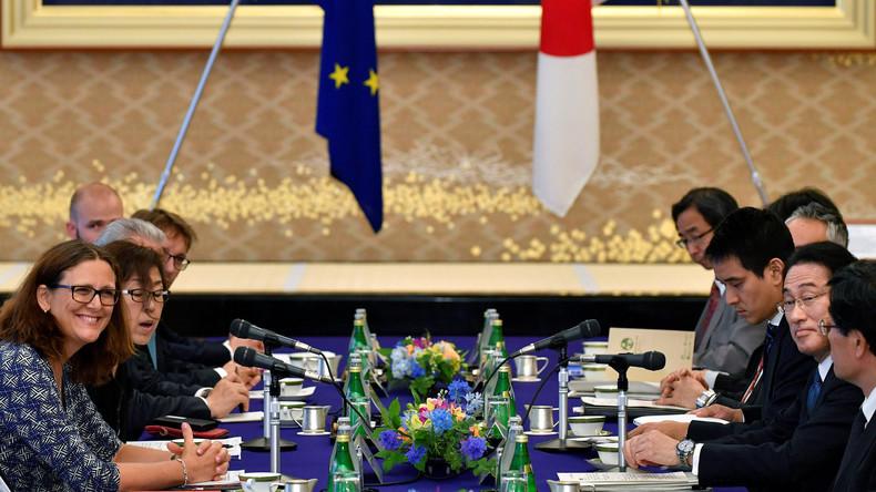 Vorerst kein Durchbruch bei Freihandelsgesprächen zwischen EU und Japan