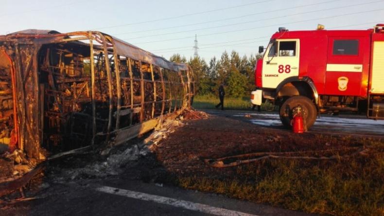 Verkehrsunfall in Russland fordert 13 Menschenleben