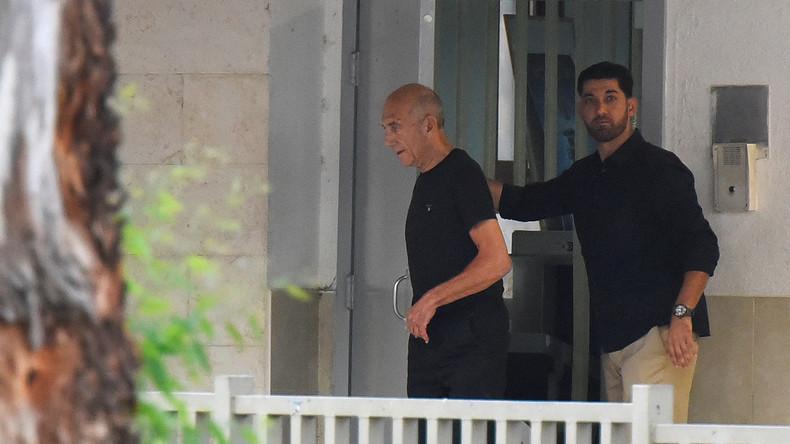 Israels Ex-Regierungschef Ehud Olmert kommt vorzeitig auf freien Fuß