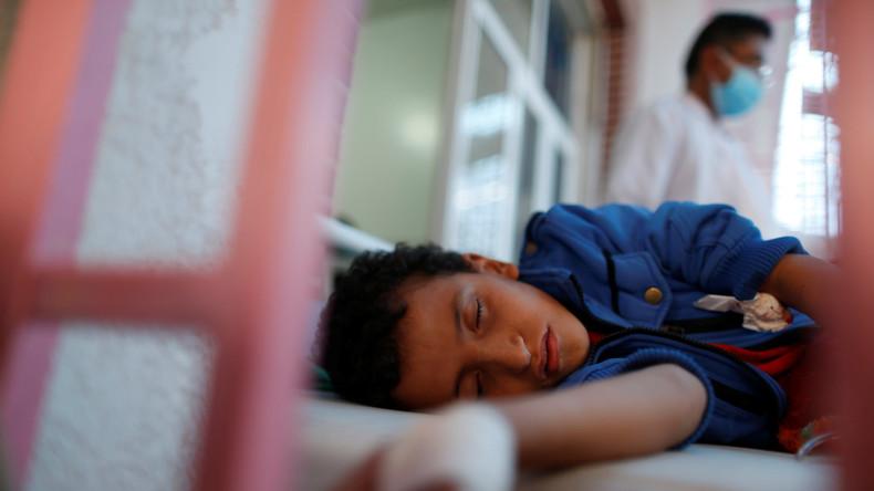 Cholera-Epidemie in Jemen rafft 1.500 Menschen dahin