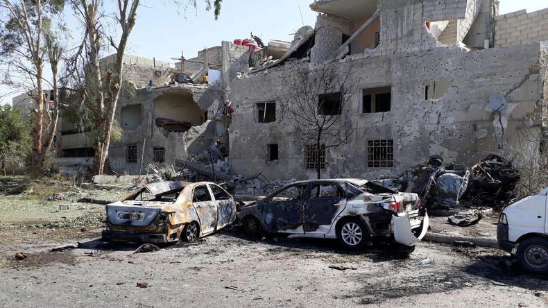 Autobombe explodiert in Damaskus - Mindestens acht Tote