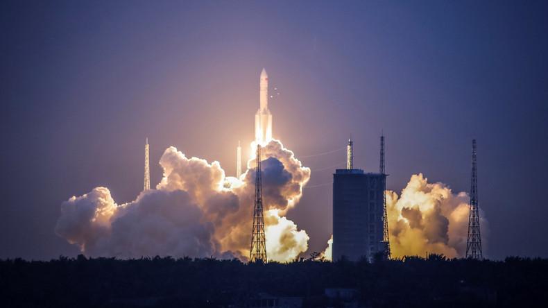 Weltraum-Mission mit Schwerlastrakete fehlgeschlagen