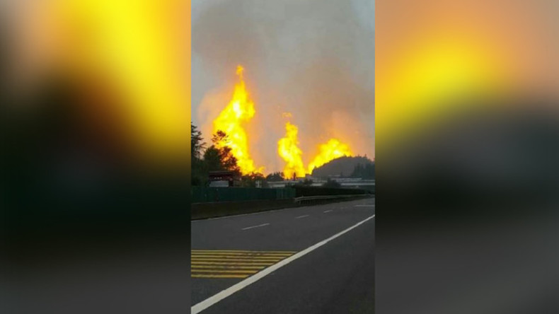 Gas-Pipeline-Explosion in China - 8 Tote, 35 Verletzte
