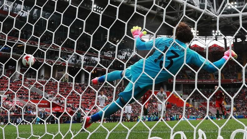 Confed Cup 2017: Portugal gewinnt Spiel um Platz drei gegen Mexiko mit 2:1