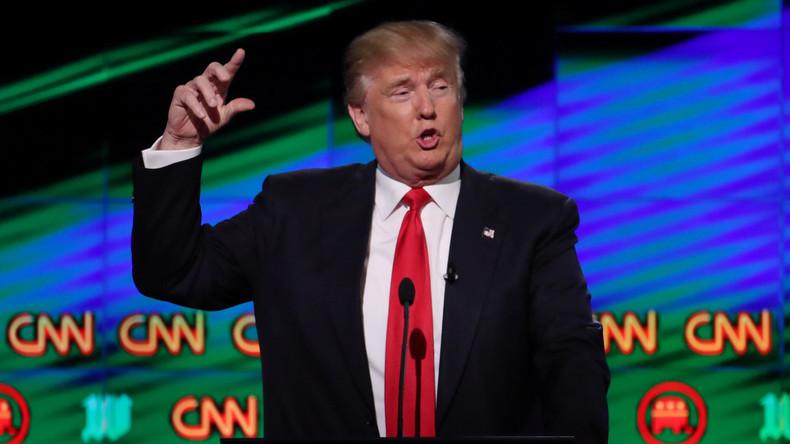 Trump schlägt zu: Video des US-Präsidenten löst Empörung aus