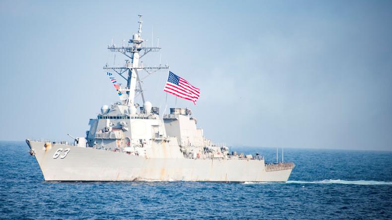 China verurteilt Manöver des US-Zerstörers im Südchinesischem Meer
