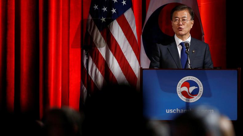 """Südkoreas Präsident: Nordkorea hat """"letzte Chance"""" für Dialog"""