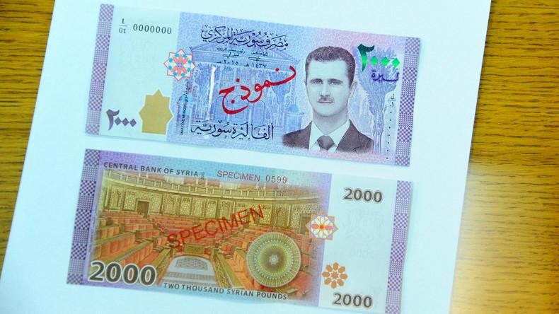 Syrien bringt Banknoten mit Porträt von Baschar al-Assad in Umlauf