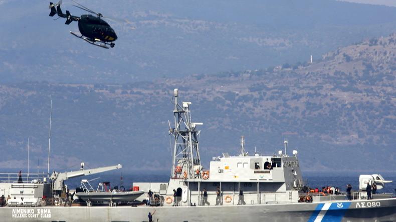 Griechische Küstenwache eröffnet Feuer auf türkisches Frachtschiff in der Ägäis