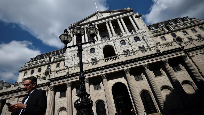 Mitarbeiter von Bank of England drohen mit Streik – erstmals seit über 50 Jahren