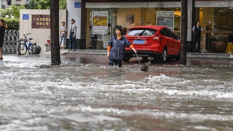 Mindestens 56 Tote nach Überschwemmungen in China