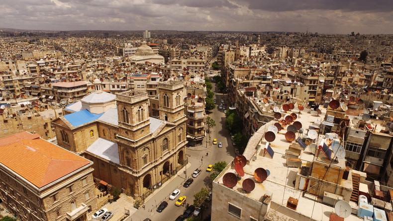Archäologen bauen historische Objekte in Aleppo wieder auf