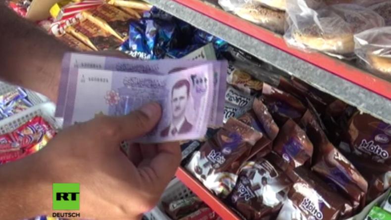 Syrien: Bürger bezahlen nun mit Assad - Neuer Geldschein in Umlauf gebracht