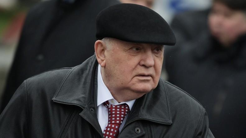 Michail Gorbatschow beschuldigt USA des Egoismus in bilateralen Beziehungen mit Russland