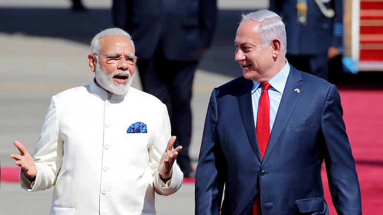 Modi besucht als erster indischer Ministerpräsident Israel