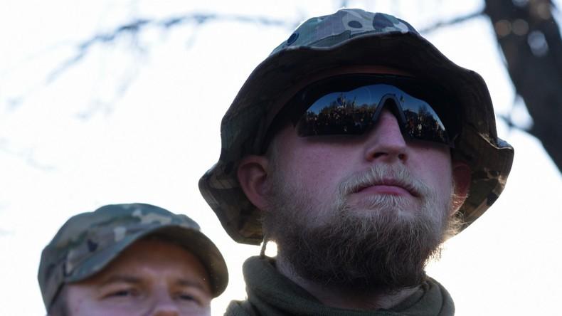 Ukrainische Spezialeinsatzkräfte an der Grenze zu Rumänien