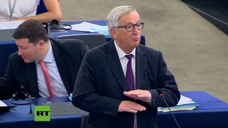 """Junckers Wutausbruch: """"Das Europäische Parlament ist lächerlich, sehr lächerlich!"""""""