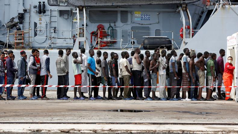 Italien: Alleingelassen mit dem Migrantenstrom