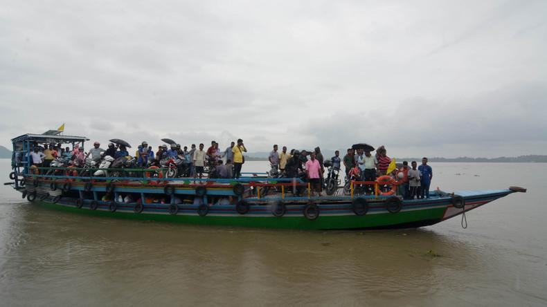 Überschwemmungen treffen Hunderttausende Inder - 17 Tote