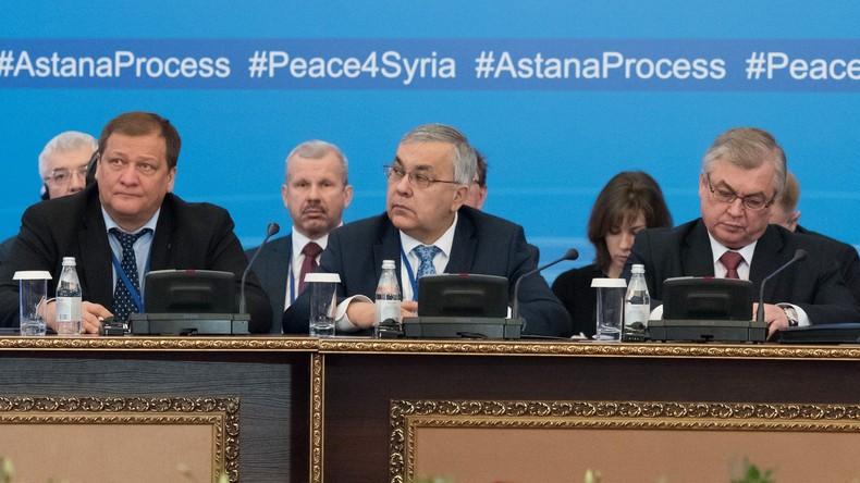 Syrische bewaffnete Opposition nimmt an Friedensgesprächen in Astana teil