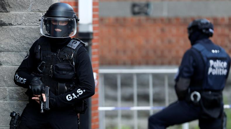Vier Festnahmen bei Anti-Terror-Einsatz in Belgien