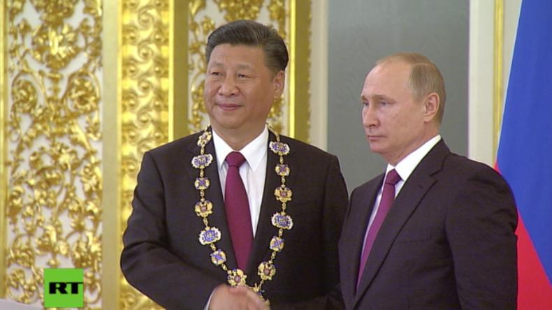 Treueschwur von Xi Jinping und Putin: Keine äußeren Mächte werden unsere Partnerschaft beeinflussen
