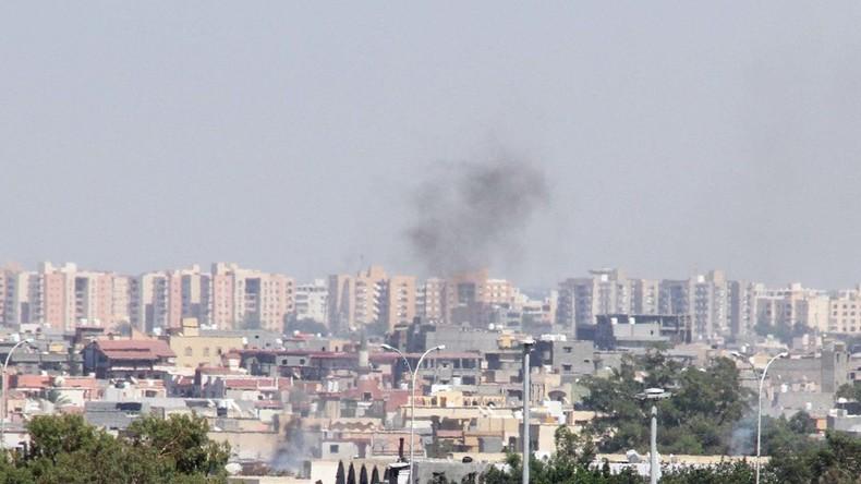 Luftverkehr an Flughafen in Libyen wegen Kämpfen unterbrochen