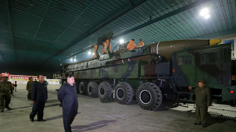 """""""Kleine und große Geschenke für US-Imperialisten"""" - Nordkorea testet erste Interkontinentalrakete"""