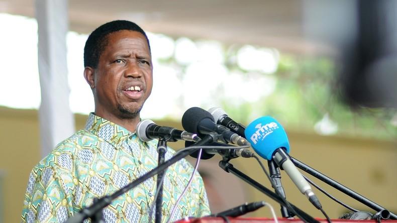 Sambias Präsident Edgar Lungu ruft Ausnahmezustand aus