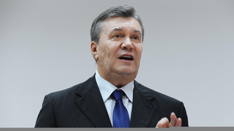 Prozess in Kiew: Janukowytsch verlangt Klärung der Mitverantwortung Deutschlands für Putsch 2014