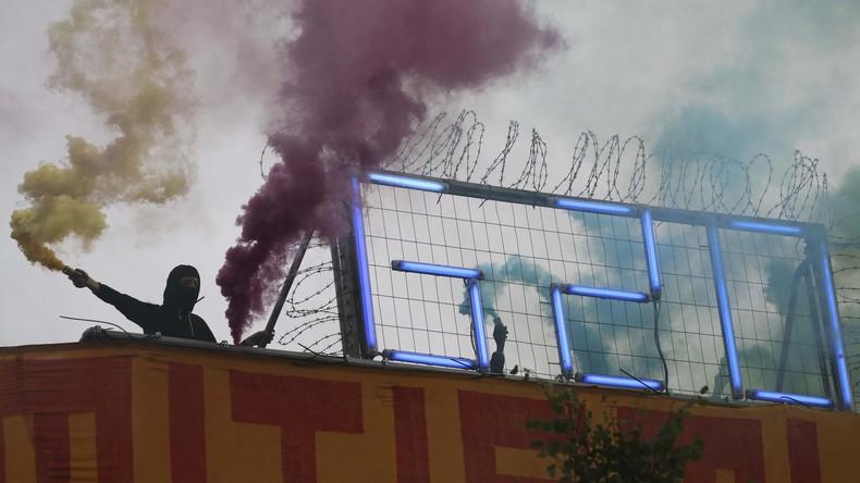 """Hamburg: 20.000 Polizisten erwarten größten """"Schwarzen Block"""" aller Zeiten"""