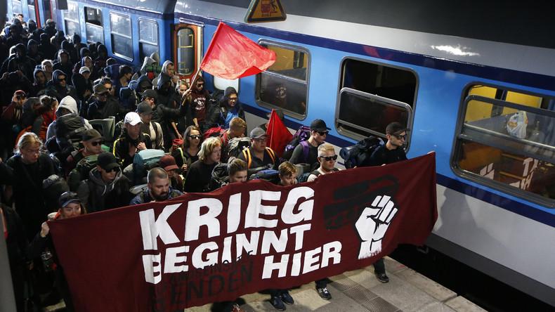 """LIVE: """"Welcome to Hell"""" – Antikapitalistische Demonstration in Hamburg gegen G20-Gipfel"""