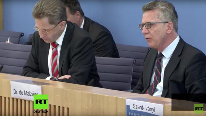 ATP-31: Innenminister de Maizière fantasiert von neuer russischer Cyber-Geheimwaffe