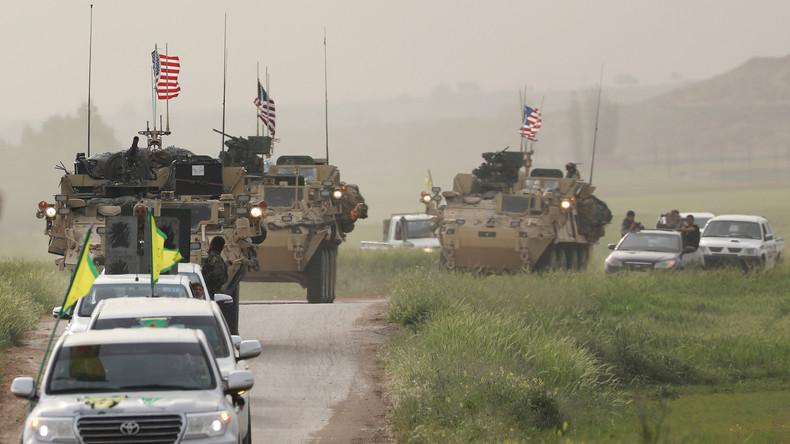 """USA bauen sieben Militärbasen in Syrien: """"Kurdische YPG sind zum Instrument der USA geworden"""""""