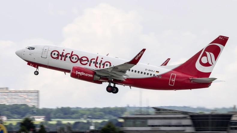 Air Berlin entschädigt Passagiere mit zehn Millionen Euro