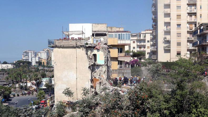 Mehrere Bewohner nach Einsturz eines Hauses bei Neapel verschüttet