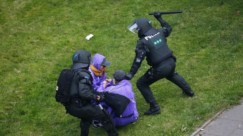 Würde Hamburg in Russland liegen: Polizeieinsätze und deren mediales Echo